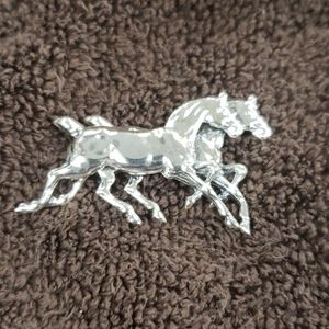 Sterling silver horses